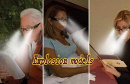 Wholesale LED Eyewear Reading Glasses Eyeglass Spectacle Diopter Magnifier Light Men Women