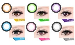 Wholesale Big Eye Enlarge the Eyes Contact Lenses Colorful Cosmetic Makeup Supply