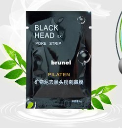 Wholesale 3222pcs Black mask PILATEN face mask Tearing style Deep Cleansing New oil skin Acne remover strawberry nose black mud masks g