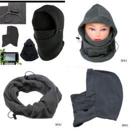 Wholesale Hot Sale New Polar Fleece Neck Warmer Balaclava Winter Face Hat Thermal Fleece Hood Police Swat Ski Mask Helmet