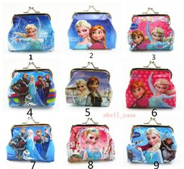 Wholesale Low Price Despicable Me Frozen Coin Purse Girls D Cartoon with Iron Button Shell Bag Wallet Purses Children Kids Hallowmas Christmas Gifts