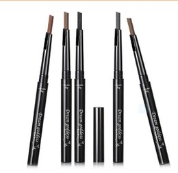 Wholesale 2015 Newest High Quality eyebrow pencil waterproof brown eye brow Pencils color Brow Pen to makeup brows