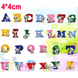 2015 new 1set26pcs alphabet letter patch embroidered sew on applique iron on patch diy garment accessory iron applique letters deals