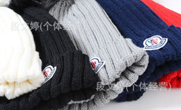 2017 wholesale knitted cashmere hat 20pcs lot EMS Adult female brand blank pom pom beanie hat winter warm woolen crochet knitted women hat cap gorras with pom-poms ball top inexpensive wholesale knitted cashmere hat