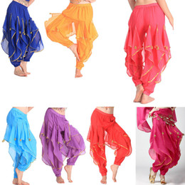 Wholesale Women Elegante Practice Indian Belly Dance Dancing Clothes Costume Pants Indian Belly Dance Dresses Colors