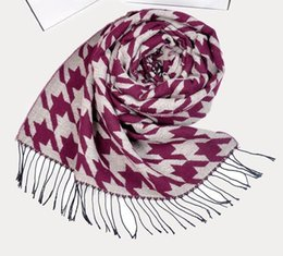 Wholesale 2014 new autumn and winter women twill plaid cashmere scarf girl female shawl scarf fashion scarves