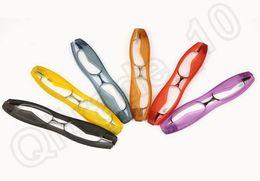 Wholesale 5 design Pro Unisex Folding Portable Rotation Eyeglass Frame Reading Glasses to Mini Folding Reading Glasses LJJK69