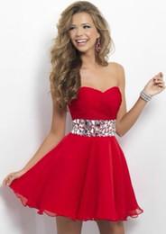 Discount Red Semi Formal Dresses Juniors | 2017 Red Semi Formal ...