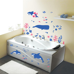 discount ocean bathroom wall decals   ocean bathroom wall, Home decor