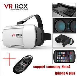 "Head Mount Plastic VR BOX Version VR Virtual Reality Glasses Rift Google Cardboard 3D Movie for 3.5"" - 6.0"" Smart Phone"