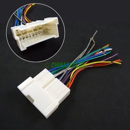 discount kia wiring harness 2017 kia wiring harness on at car oem audio stereo wiring harness adapter for hyundai kia 01~05 install aftermarket cd dvd stereo