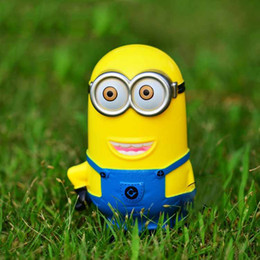 Wholesale Despicable Me Figures Toys Resin Minion Collectible Action Figure Doll Piggy Bank Anime Gift For Chlidren