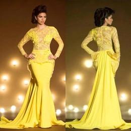 Bright Yellow Mermaid Prom Dresses Online | Bright Yellow Mermaid ...