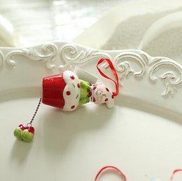Wholesale 4pc Christmas Ceramic Santa Snowman Ornament Merry Xmas Tree Pendant House Decoration Ceramic House Decorations For Sale