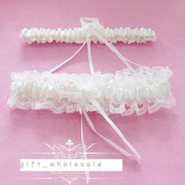 Wholesale 5pcs Sexy Lace Garters Ladies Wedding Garters Blue Red White Navy Bowtie Bridal Garter