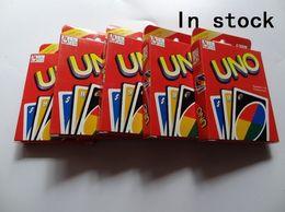 200sets Семья Забавные развлечения Настольная игра UNO Fun Покер Игра в карты Логические игры Стандартный UNO карты Бесплатная доставка