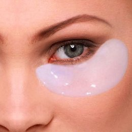 Wholesale Deck Out Women Crystal Eyelid Patch Anti Wrinkle Crystal Collagen Eye Mask Remove Black Eye Face Care