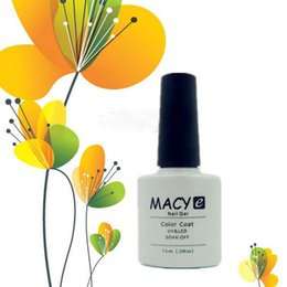 Wholesale 7 ml Soak off Nail Gel Polish Colors Macy Shellac Flurescent UV Gel Polish for Beautiful Nail Art And Nail Decoration
