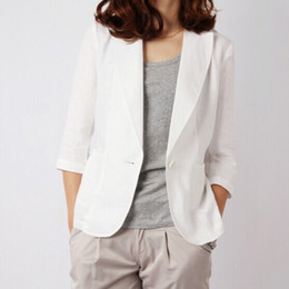 Discount Women White Linen Suits   2017 Women White Linen Suits on ...