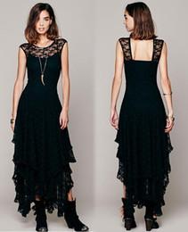 Новый выдалбливают шнурка Женщины Платья вечера партии вскользь Пром Элегантный Макси стройная длинный Sheer бальное платье Летний пляж платье