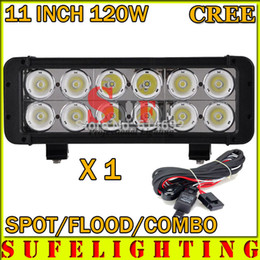 cree led light bar wiring harness online cree led light bar 1pcs 11 inch 120w cree led offroad light bar wire harness flood 4wd boat suv tractor driving work lamp 4x4 led headlight