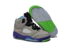 Wholesale 2015 Newest china jordan Retro AJ5 For Children s Basketball Shoes J4 Retro kids Basketball Shoes Sports Sneakers eur