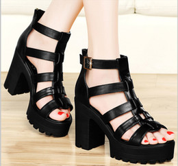 Discount New Sexy Chunky Platforms | 2017 New Sexy Chunky ...