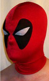 Wholesale New fancy dress party lycra spandex zentai costume deadpool Mask S XXL