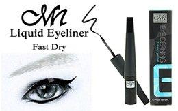 Wholesale 2016 MENOW Liquid Eyeliner Black Smoky Makeup Pen Dynamic Waterproof Pencil Eye Liner Cosmetics M N ML E15005 Factory Direct