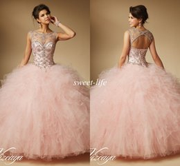 plus size quinceanera dress blush