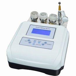 Wholesale Electroporation No Needle Mesotherapy skin whitening rejuvenation Ultrasound LED Photon Equipment needle free home use M