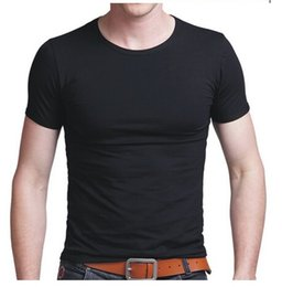 Wholesale 2015 new men shirts for solid colors men clothing tees shirts summer short sleeve tees t shirts for man clothes clothing