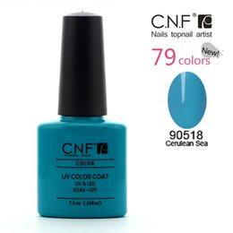 Wholesale 6pcs CNF Nail Gel Polish top quality Sets for Nail art uv soak off nail polish Keeping healthy and beauty