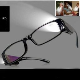 Wholesale Multi Strength LED Reading Glasses Eyeglass Spectacle Diopter Magnifier Light UP
