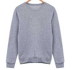 Wholesale Casual Men Long Sleeve Grey MR Letter Clothes Jumper Pullover Tops Hoodies Sweatshirts