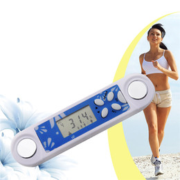 Wholesale Health Care New Digital LCD Mini Body Fat Analyzer Monitor BMI Meter Weight Loss Tester Calculator