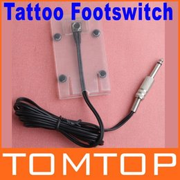 Wholesale Acrylic Tattoo Machine Foot Pedal Switch Footswitch Controller Transparent Acrylic Dropshipping