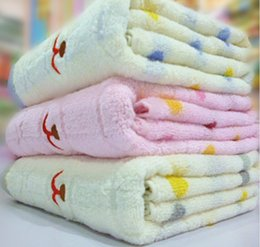 Wholesale Breathable Kid Blanket Children Air Conditioner Blanket Thin Style Size CM Three Colors Pink Grey Blue Mix Color per Sofa Cover