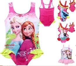 Wholesale A children s summer swimwear shipped in big boy child swimsuit bikini Frozen Frozen Kids