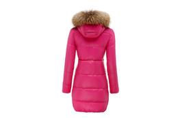 Discount Pink Down Jacket Fur Hood | 2017 Pink Down Jacket Fur ...