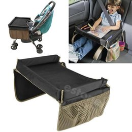 free shipping kids car seat snack and play travel tray table on the go waterproof organizer order