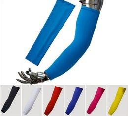 Wholesale Tattoo Sleeves Men Women Ideas Fashional Riding Outdoor Protection Sun Arm Sleeves Ventilate Mixed Designs
