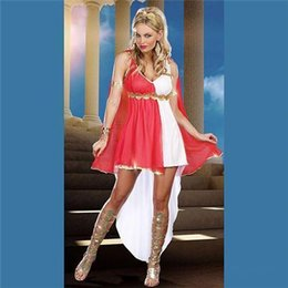 Wholesale 2015 new items Halloween Party Cosplay Anime Costume Role Playing Greek Goddess Costume Sexy Suit Clothing FZ913