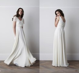 Discount Modest Wedding Dresses Sleeves Chiffon | 2016 Modest ...