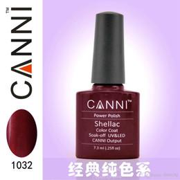 Wholesale HOT shellac Canni uv nail gel Top coat base coat uv gel builder Soak Off professional nail polish for fashion lady Nail Art Salon
