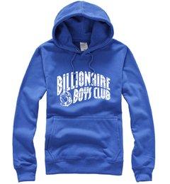 Wholesale HOT SELL BILLIONAIRE BOYS CLUB BBC Hoodie sweatshirt hip hop clothes sportswear fashion brand new men hip hop rap sweats