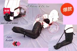 Wholesale BDSM Leather Sexy Fetish Restraints Dress for Women Female Bondage Belts Adult Games Costumes Sexual Abuse Sex Hogtie Gear for Couples
