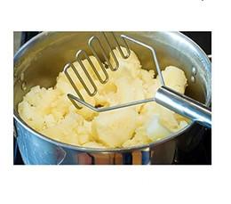 Gadgets de cocina de la patata del fango del fango de la presión de la máquina trituradora de patatas Patatas presión Puré de frutas de dispositivos accesorios para herramientas vegetal 150pcs / lot