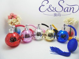 Wholesale ml air bag glass perfume bottle with Refillable Atomizer Spray gasbag perfume bottle perfume container gasbag
