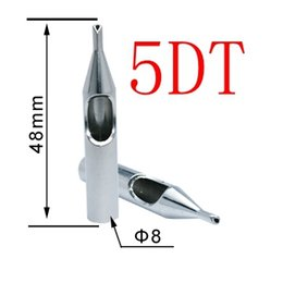 Wholesale Hot Sale Best DT Tattoo Tips Stainless Steel Tattoo Nozzle Tips for Needles Set